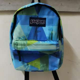 Kiddie blue jansport bag