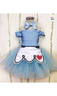 Alice in wonderland inspired tutu