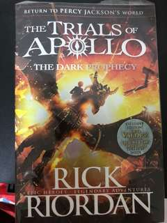 Trials of Apollo - the Dark Prophecy (BN- in original wrapping)