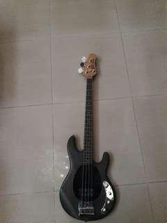 Jual Guitar Bass Ernie Ball Stingray Nego,jual cepat