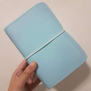 Foxyfix No 2/Pocket/Field Note size Sugar Cupcake leather notebook cover