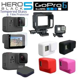 GoPro Hero 5/6 glass protector/lens cap/cover case