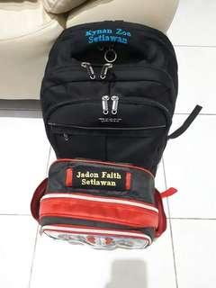 Name Tag untuk tas
