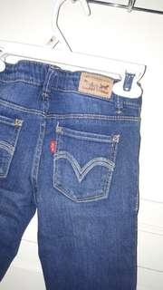 Celana Panjang Jeans Levi's Original 7-8 Tahun
