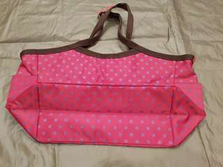 Carrier Bag- Pink Colour