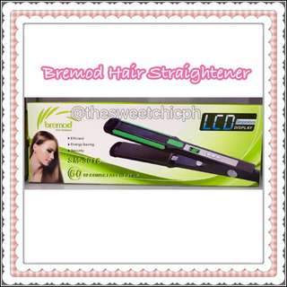 Bremod Hair Straightener with LCD Temperature Display
