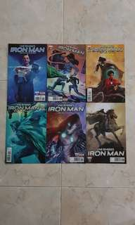 """Infamous Iron Man (Marvel Comics 6 Issues; #7 to 12, story arc on """"Absolution of Doom"""", issue #12 is the final issue for this title series)"""