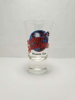 Atlantic City Planet Hollywood Shot Glass, Collectible