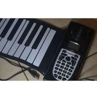 61Keys Flexible Portable Roll Up Electronic Piano Soft Silicon