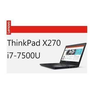 x270 i7-7500U 8G ssd 雙硬碟 fhd 保固三年 lenovo thinkpad