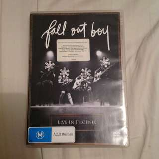 fall out boy live in phoenix dvd