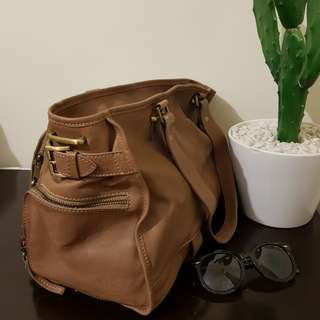 100% Australian leather LUCETTE tote