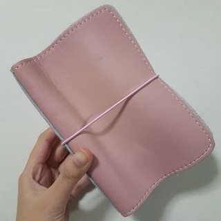 Foxyfix No 2/Pocket/Field Note Size Sugar Mochi Leather Notebook Cover