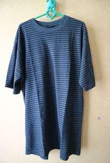 Kaos garis-garis pria - stripes shirt
