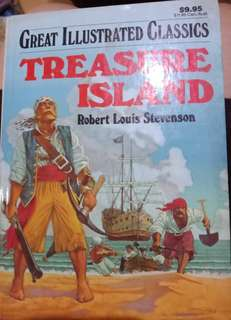 Treasure island Novel inggris