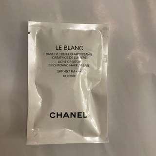 Chanel 防曬妝前乳 10號色