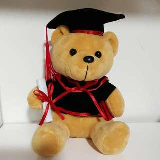 Graduation Bear Soft Toy Gift