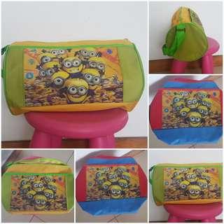 Minion Duffle Bag/Minion Bag/Bag/ Christmas Sale/swimming bags/gift item/return gift