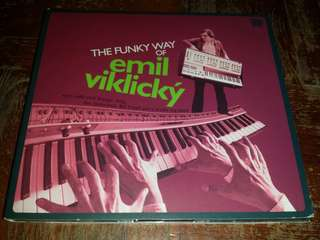 Music CD: Emil Viklický ‎– The Funky Way Of Emil Viklický - Jazz Funk, Fusion