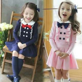 Japan Style Long Sleeves Girls Dress Up