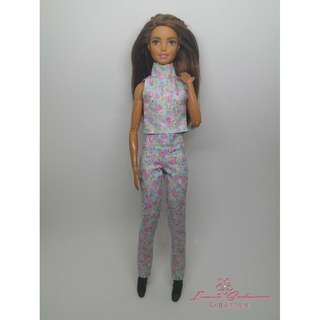 Pastel Mint Top and Pants May 2018 Collection Barbie Dress