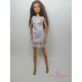 Pastel Mint Sleeveless Dress May 2018 Collection Barbie Dress
