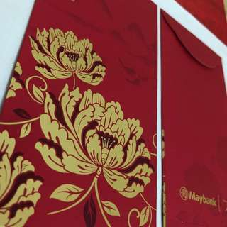 Red packets (Maybank Premier Wealth 2018)