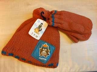 Winter Hat & Mittens