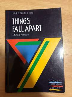 Things Fall Apart Chinua Achebe Guidebooks