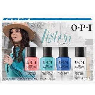 Opi lisbon mini set of 4