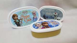 Frozen Disney Three Lunch Boxes