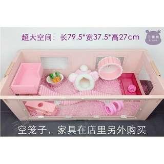 🚚 倉鼠整理箱(標價非真實售價,客製化商品,下單前請先私訊討論樣式)