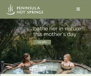 $500 Peninsula Hot Springs Voucher