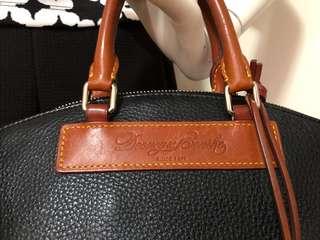 Authentic DOONEY & BOURKE Genuine Florentine Vachetta Leather satchel
