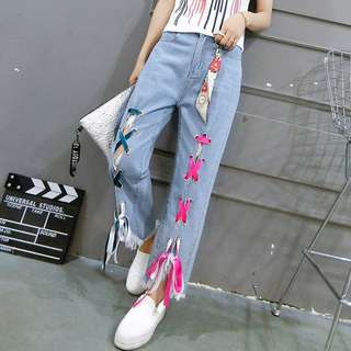 Ulzzang Fashion Jeans