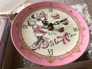 [日本直送]Disney Minnie Melamine Tray Clock