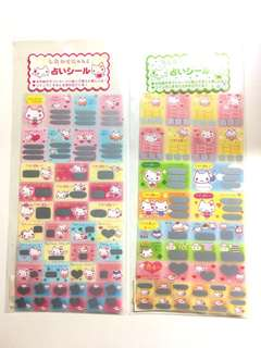 Japanese Scratch Stickers ($3 each, $5 for 2)