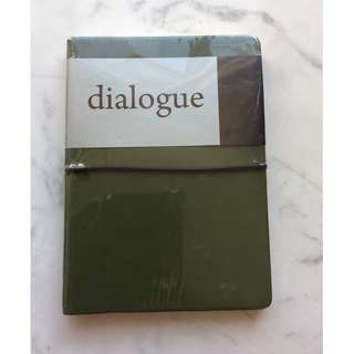 Dialogue Green Notebook