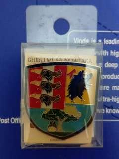 日本宮崎駿三鷹吉卜力博物館徽章
