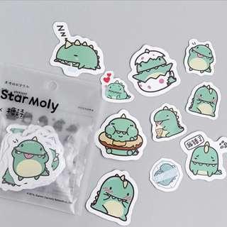 Sticker Set (Dinosaur) (Ref No.: 253)