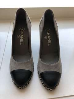 Chanel Wedges worn once