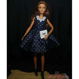 Polkadots Sunday Dress March 2018 Collection Barbie Clothes