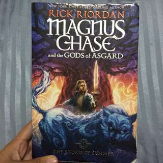 MAGNUS CHASE AND THE GUARDS OF ASGARD