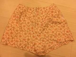 Japan Brand Orange Flower short pants