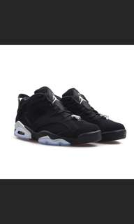 Air Jordan 6 Low Black Chrome AJ6 黑銀