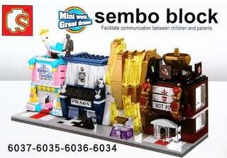 Little Mini Bricks - FGR980  Design: as attach photo   Size: as attach photo