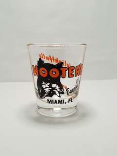 Miami Hooters Shot Glass, Collectible
