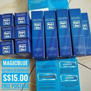 Formula Hebat Magic Blue Deodorant