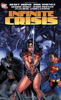 Infinite Crisis Paperback comics magazine books Wonder woman cover