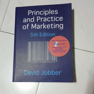 Principles and Practice of Marketing 5th Edition